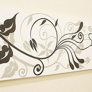 バリ絵画 ドットアート 120×45 SU-01